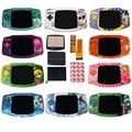 IPS V2 комплекты ЖК-экранов с УФ печатной пользовательской оболочкой для GBA Backlight V2 Screen 10 уровней высокой яркости для Gameboy advance Nintendo