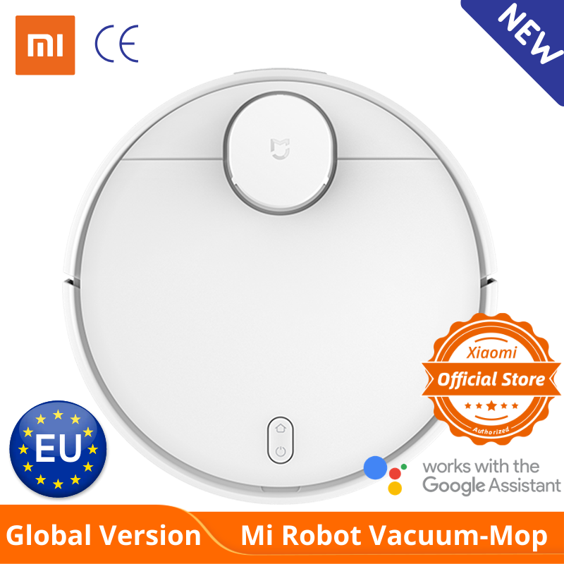 Global Version Xiaomi Mi Robot Vacuum Cleaner Mop Pro Sweep And Drag 3 Mode LDS Laser Navigation 2100Pa Care Of Wooden Floor