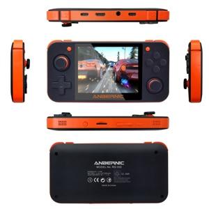 Image 2 - 새로운 ANBERNIC RG350 IPS 레트로 게임 RG350 비디오 게임 업그레이드 게임 콘솔 ps1 게임 64 비트 omendinux 3.5 인치 15000 + 게임 rg350