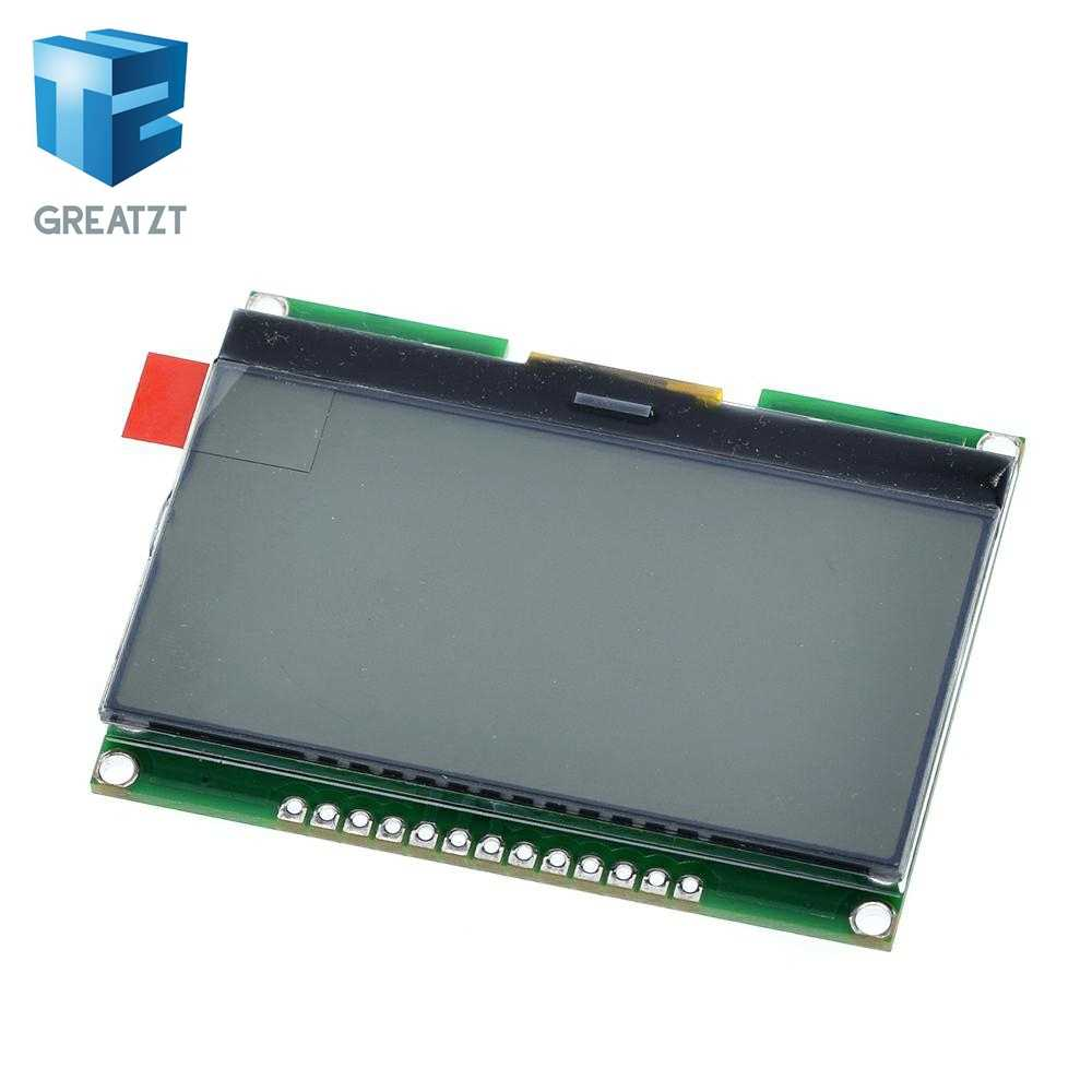 Great zt Lcd12864 12864-06D, 12864, وحدة LCD, COG, مع الخط الصيني, شاشة مصفوفة نقطة, واجهة SPI