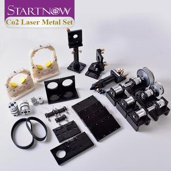 Startnow CO2 Laser zestaw mechaniczny maszyna do cięcia części metalowe części głowica laserowa zestaw do DIY przekładnia osprzęt mocujący tanie i dobre opinie CO2 Laser Mechanical Components
