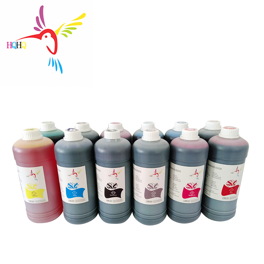 12 Colors Pigment Ink for Canon PFI-701/702 Ink Cartridge FOR Canon iPF 8100 9100 8110 9110 8000 9000/ 8000s 9000s 8010 Printer image