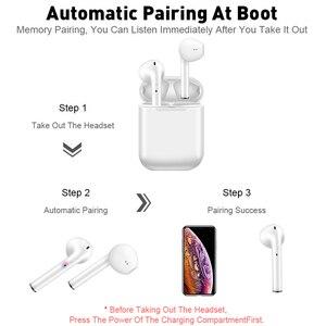 Image 5 - I11 Tws Oortelefoon Draadloze Bluetooth 5.0 Oordopjes Koptelefoon Met Microfoon Opladen Doos Sport Headset Voor iPhone XS 11 Pro Smart telefoon