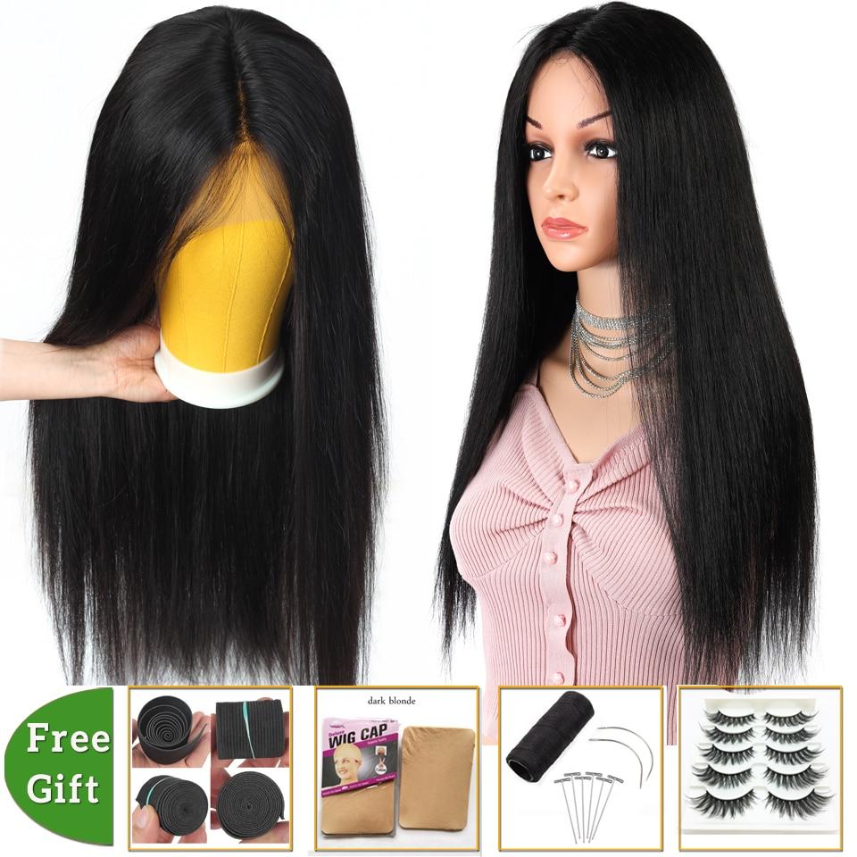 Brazilian Hair Wigs Straight Pixie Cut 13×4 Lace Front Wig Short Bob Lace Front Human Hair Wigs For Women Non-remy 150% Density