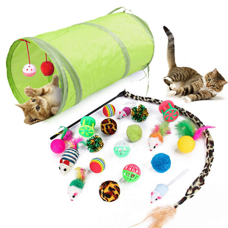 21pcs cat toy