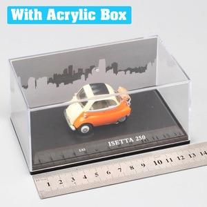 Image 5 - Cararama mini clássicos bonitos 1/43 escala isetta 250 microcar bolha carro diecast veículos modelo para presentes do bebê meninos miniaturas 1955