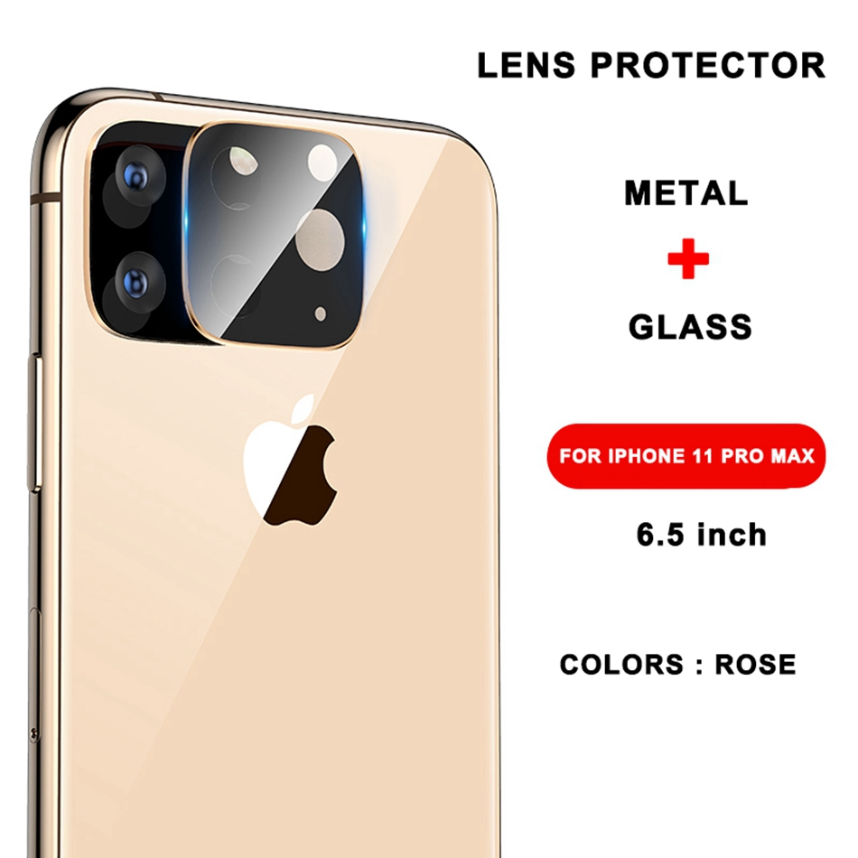 Image 5 - Tempered Glass On For iPhone 11 Pro X XS Max Glass Camera Lens Screen Protector For Apple iPhone11 Pro Max Protective Glass Film-in Phone Screen Protectors from Cellphones & Telecommunications
