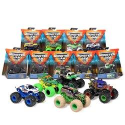 Оригинальный SPIN Master Monster Jam монстр-Трак для мальчиков, детская игрушка, модель автомобиля из сплава, инерционная четырехколесная привод, вне...