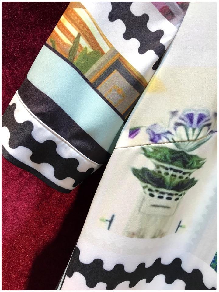 Baogarret Women 39 s Summer Runway Skirt Suit Short Sleeve Blouse Vintage Perfume Print Skirts Elegant Office Lady 2 Piece Set in Women 39 s Sets from Women 39 s Clothing