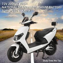 LA MIENNE 2000W Puissance Électrique Motos Moto Véhicule Pour Adulte Moto Électrique Grande Capacité Vélo Électrique Scooter