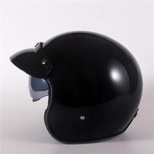 Motorcycle Helmets Electric Bicycle Helmet Open Face dark Le