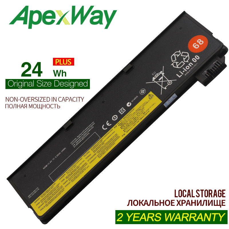 ApexWay 24WH <font><b>Battery</b></font> for <font><b>Lenovo</b></font> ThinkPad <font><b>T440</b></font> T440S T450 T450S X240 X240S X250 X260 X270 L450 45N1110 45N1111 image
