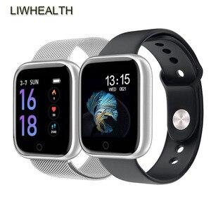 Pulseira inteligente luxuosa de cores, bracelete rastreador de fitness para homens/mulheres, smartband para apple/xiaomi/honor pk mi banda 4/fit bit 5