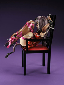 Image 4 - Japanese Anime Embrace Sexy Cat Girl Figures Chu ka na Neko & Chair PVC Action Figure Anime Sexy Gril Collectible Model Doll Toy