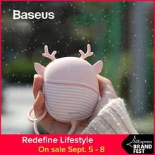 Baseus Portable Cute USB Rechargeable Hand Warmers Heater Pocket Mini Cartoon Power Bank Handy