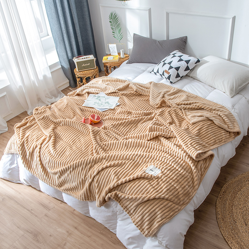 Blankets For Beds Solid Yellow Blue Grey Color Soft Warm Square Flannel Blanket Fleece Blankets And Throws Sofa Cover Bedspread 7