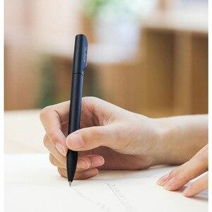Image 4 - 4 renk Nusign işareti kalem jel kalem ABS 0.5mm siyah renkli mürekkep PREMEC pürüzsüz İsviçre dolum kalemler okul ofis için