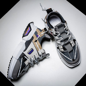 Image 5 - الرجال في الهواء الطلق أحذية كاجوال الاتجاه عالية بلايز أحذية رياضية حذاء رياضي على الموضة شعبية حذاء كرة السلة أحذية أنيقة الرجال 2019