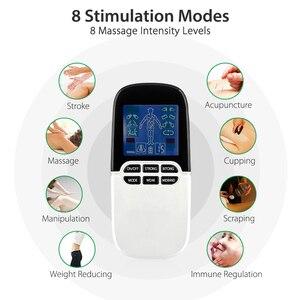 Image 2 - Электростимулятор для мышц Tens Boby, массажер от ринита и аллергии, электростимулятор, меридианная физиотерапия