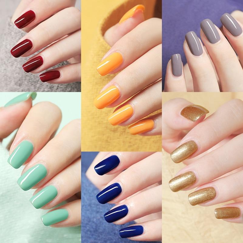 Venalisa 7.5ml Nail Gel Polish 60 Colors Free Shipping Top Sell For Nail Art Manicure Top Coat Soak Off Enamel UV Gel Varnish 5