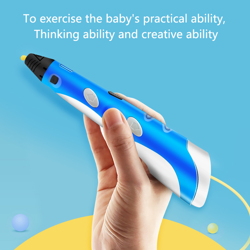 lowest price 3D Pen Original DIY 3D Printing Pen Gift With 100M ABS PLA Filament Toy For Kids Creative Design Drawing