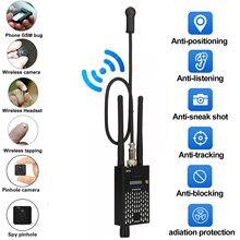 Détecteur de Signal RF sans fil Anti-espion, localisateur GPS GSM, caméra d'écoute, dispositif professionnel