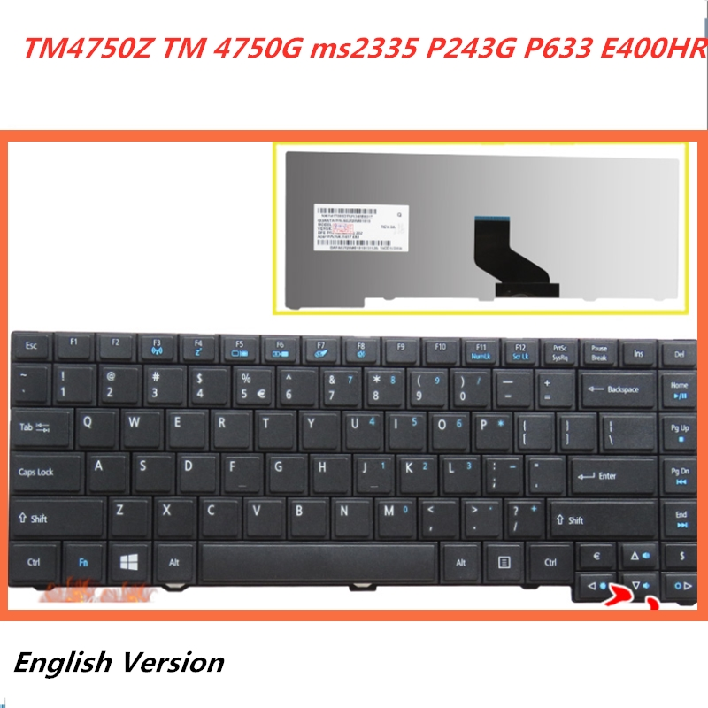 Russian New Keyboard suitable for ACER Laptop Q5WT6 Q5WPH BIC50 KJB AUM0R ZYD laptop keyboard
