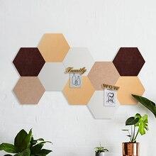Креативный DIY Сращивание шестиугольная 9 мм фетровая настенная паста Ins горячий фон ткань Apliques Para Artesanato Infantil Cabelo Vilt
