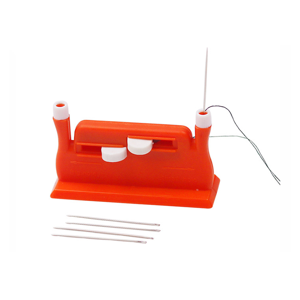 Hand Threader Green Double Hole Needle Threader Insertion Tool for ...