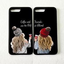 MaiYaCa кофе и друзья идеально сочетаются мягкие чехлы для телефонов BFF для iPhone 11 pro max 5S se 6s 7 8 plus X XR XS MAX чехол из ТПУ
