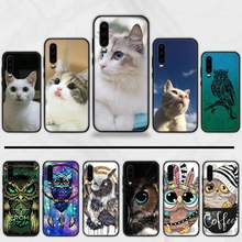 animal Cat dog pig lion tiger Phone Case Cover For Huawei Honor view 7a5.45inch 7c5.7inch 8x 8a 8c 9 9x 10 20 10i 20i lite pro(China)