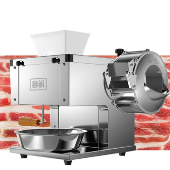 Commercial Meat Slicer Electric Multifunctional Small Meat Cutter Stainless Steel Meat Grinder Home Appliances 220V 1