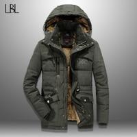 Winter Men Parka Jacket Windproof Outdoor Mens Thick Coat Warm Casual 2020 Hooded Coats Male Hat Detachable Man's Jackets 5XL