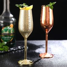 Бокалы для вина из нержавеющей стали бокалы для шампанского бокалы для коктейлей es стакан для виски