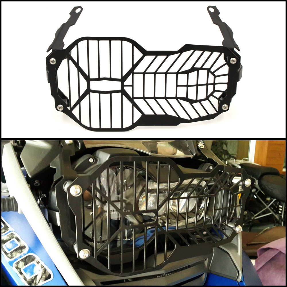 CNC Motorcycle Headlight Guard Protector For BMW R1200GS R1250GS R 1200/1250 R1200 GS /LC /Adventure 2013 2018 2019+|motorcycle headlight guard|headlight guards|motorcycle headlight protectors -