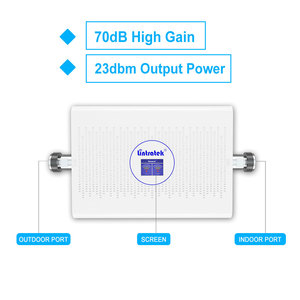 Image 2 - Lintratek NEW 70dB 3G 4G Cellular Signal Booster LTE 1800mhz UMTS 2100mhz AGC/ALC Dual Band Signal Repeater B3+B1 3G Amplifier .