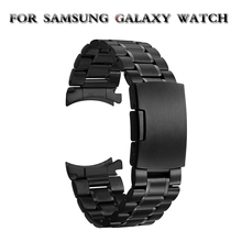 Samsung Galaxy 46 Gear S3 Classic Frontier Watch Band 22mm Stainless Steel Strap for Wrist 20mm  Bracelet Silver Quick Release excellent quality 20mm quick release watch band strap for samsung galaxy gear s2 classic stainless steel strap bracelet