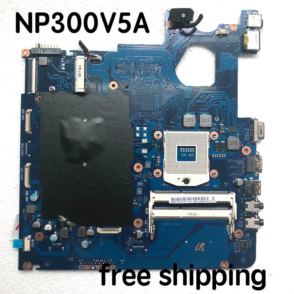 For Samsung NP300V5A 300V5A BA41-01763A Laptop motherboard BA92-08469A BA92-08469B motherboard100%tested fully work