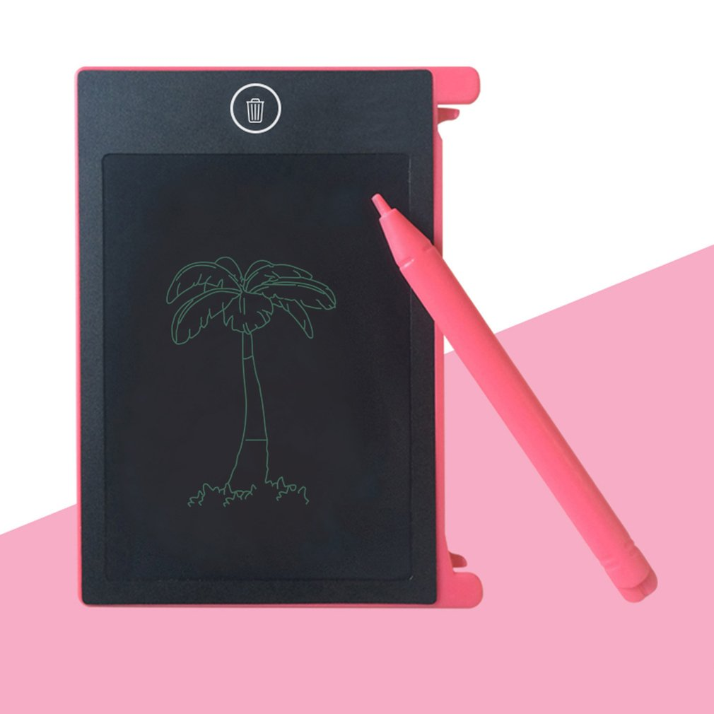 4.4 Inch Portable LCD Handwriting Board Electronic Writing Pad Kids Adults Drawing Tablet Notepad For Home Office