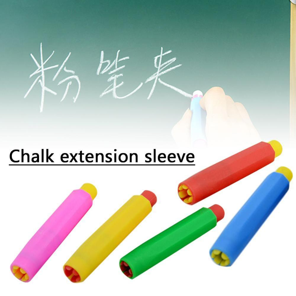 1pcs Teachers Writing Extender Children Drawing Board Accessories Chalk Holders School Teaching Aids (Color  Random)