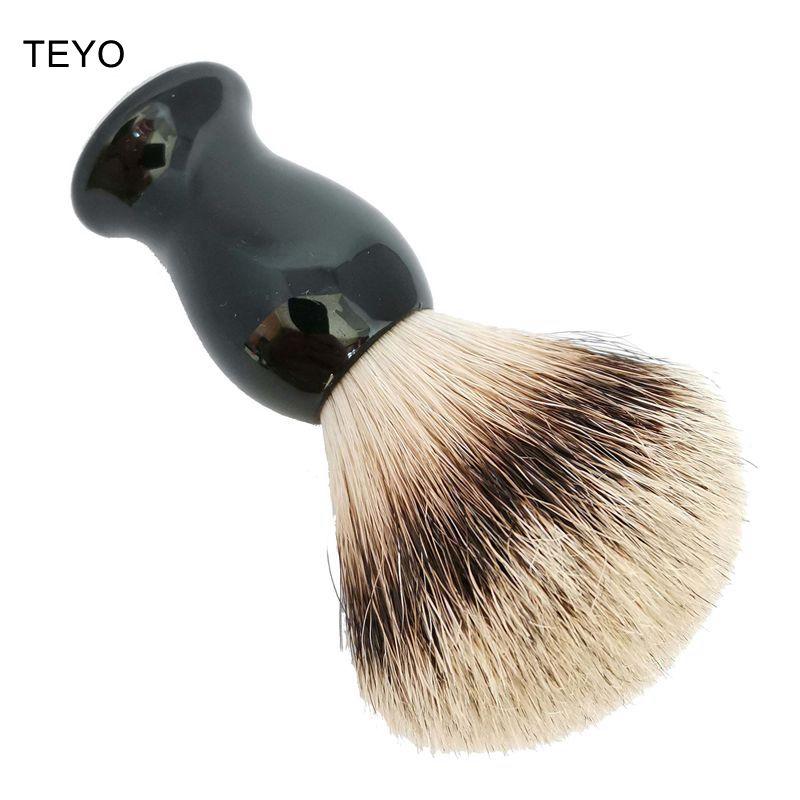 TEYO Shaving Brush Of Silvertip Badger Hair With Gift Box Perfect For Wet Shave Beard Brush