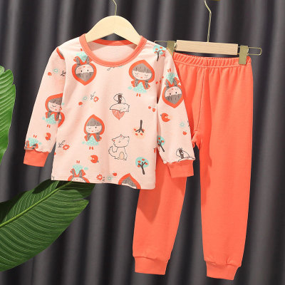 VIDMID New Children Pajamas Set Soft Cotton clothes suits  Cartoon Animal Sleepwear Boy Clothing Suit Pajamas Nightwear 4248 01 4