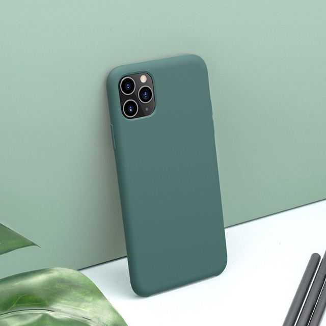 NILLKIN iPhone 11 Pro Max Silicone Smooth Protective Back Case Cover