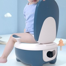 Kids Pot Baby Toilet Seat Children Potty Training Seat Comfortable with Backrest Beautiful Child Travel Potty for Boys Girls