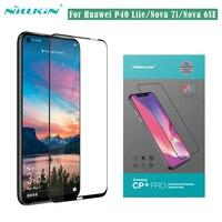 For Huawei P40 Lite Nova 7i 6SE Tempered Glass Nillkin CP+PRO Anti Explosion 2.5D Full Screen Protector Glass For Huawei P40Lite|Phone Screen Protectors| |  -
