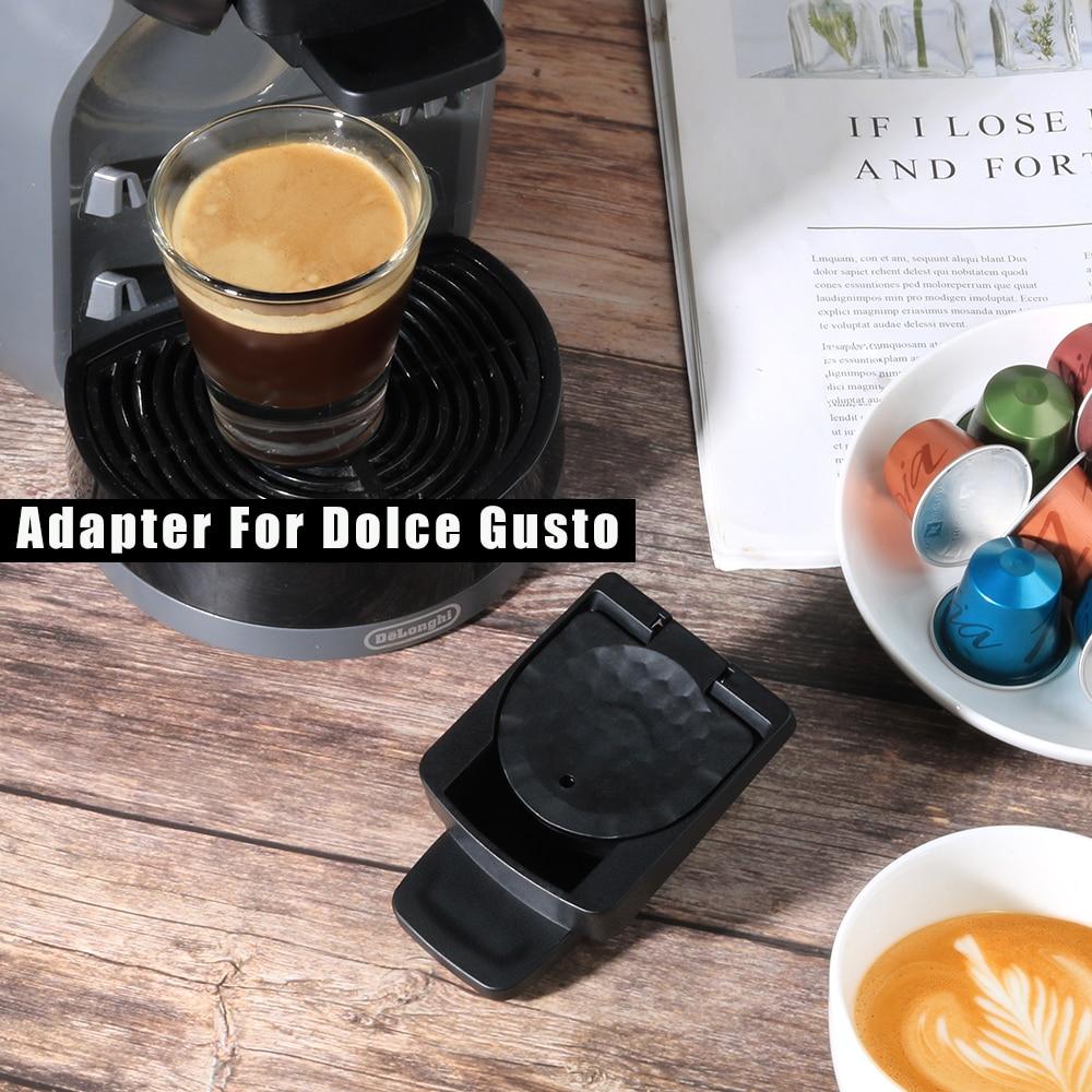 محول كبسولات نسبرسو الأصلي كبسولات تحويل إلى حامل متوافق مع دولتشي غوستو كريما صانع|Coffee Filters| - AliExpress