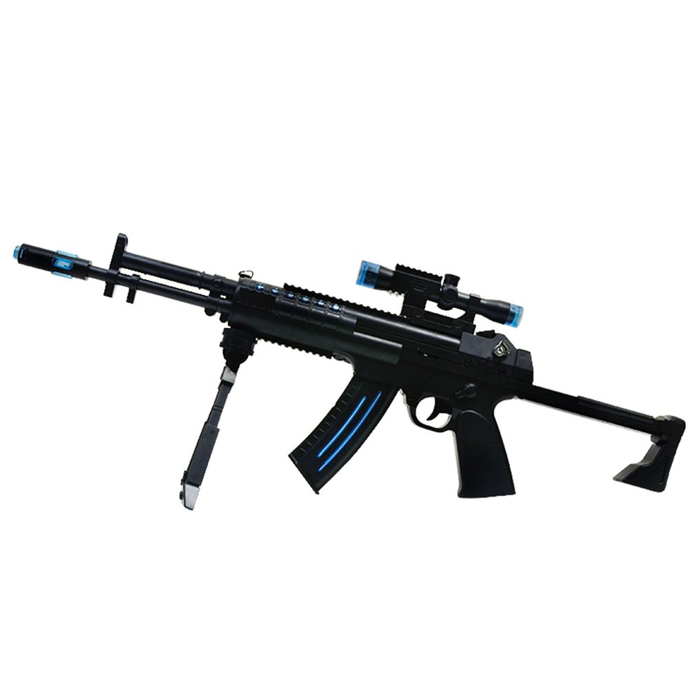 Submachine Toy Gun Electric Gun Weapon Soft Water Bullet Bursts Gun Live CS Assault Snipe Outdoors Toys Children Birthday Gift
