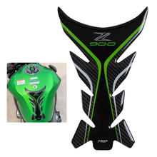 5D Carbon Fiber Kawasaki z900 Sticker Motorcycle Tank Pad Protector Gas Tank Grip Decoration Rubbber decal Accessories 2020 2019