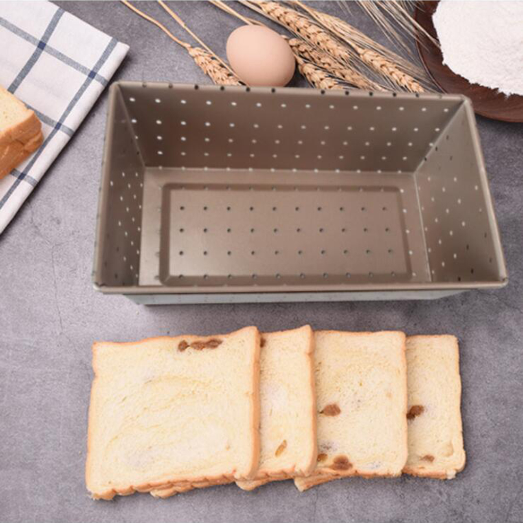 Loaf Tin Cake Pan Oven Bakeware Metal Nonstick Coated Baking Bread Tray