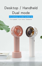 Usb Mini Rechargea Aromatherapy Mute Fans Electric Portable Hold Desktop Small Fans Originality Household Electrical Appliances